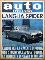 Auto Italiana - 1962 N? 25 - Anglia Spider - De Tomaso - Clark - Meccanica Corse - Sin Clasificación