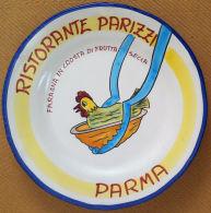 Piatto Buon Ricordo - Parma - Parizzi - Faraona - S 1997 - Presentazione - Oggetti 'Ricordo Di'