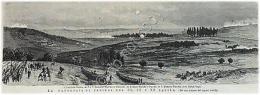 Incisione - Engraving - Campo Di Battaglia Di Kara-Hassan-Koi - 1877 - Incisioni