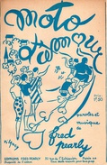 """1936-PARTITION """" MOTO D'AMOUR """"- DE FRED PEARLY - ILLUSTRATION VILANCY - TB ETAT - - Autres"""