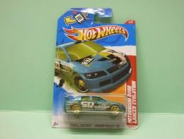 MITSUBISHI LANCER EVOLUTION 2008 - Thrill Racers Swamp Rally 2012 - HOTWHEELS Hot Wheels Mattel 1/64 US Blister - HotWheels