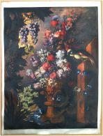 Edizioni Beatrice D'Este N.1286 -  Fiori - Flowers - Stampa Su Seta - Print Silk - Incisioni