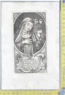 Litografia - Suor Cecilia  Nobili - .XIX  Secolo -  B/n - Incisioni