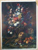 Edizioni Beatrice D'Este N.1292 -  Fiori - Flowers - Stampa Su Seta - Print Silk - Incisioni