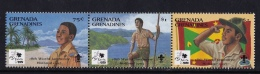 Grenada Grenadines  (Sc # 1724), MNH, (Strip Of 3), 18th World Boy Scout Jamboree, Holland   (1995) - Grenada (1974-...)