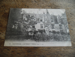 CPA De Montrésor (Indre Et Loire) - Le Château - Façade Nord - N°27 - Montrésor