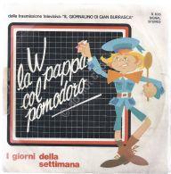 """7"""" - 45 Giri - Canzoncine Per Bambini - Via La Pappa Col Pomodoro - Maria Teresa - Musica & Strumenti"""
