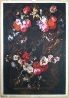 Edizioni Beatrice D'Este N.1279 -  Fiori - Flowers - Stampa Su Seta - Print Silk - Incisioni