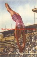 Pat McCormick Olympisch Kampioene 1952 Schoonspringen En Torenspringen - Natation