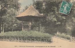 Dép. 94 - Bois De Vincennes. - Champignon De Saint-Mandé. Colorisée J. H. N° 161 - Vincennes
