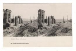 PERSE  ( IRAN ) /  RUINES  DE  PERSEPOLIS  /  LES VOYAGES DE GERVAIS COURTELLEMONT  /  Edit. E. LE DELEY  ( ELD ) - Iran