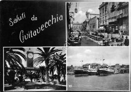 Cartolina - Postcard - Saluti Da - Civitavecchia - Multivisione - 1973 - Italia
