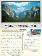 Yosemite National Park, Wyoming, United States US Postcard Posted 1993 Stamp - Yellowstone