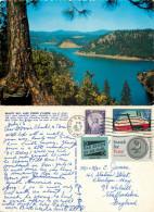 Beauty Bay, Lake Coeur D'Alene, Idaho, United States US Postcard Posted 1967 Stamp - Coeur D'Alene