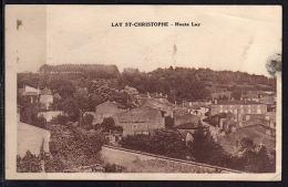 LAY SAINT-CHRISTOPHE (54) 1938VUE D´ENSEMBLE HAUTE LAY PHOTOS R/V - France