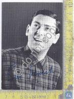 Cartolina Discografia - Ben Venuti -  Autografo - Cantante - Musica & Strumenti