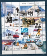 Territorio Antartico Australiano  2001 -- 50° Attraversate Antartiche  ( Unif.125/144 ) -- US. - Usati