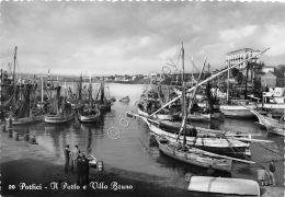 Cartolina - Postcard - Portici - Porto - Villa Bruna  - Anni '50 - Italië