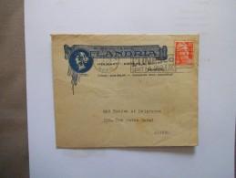 THUMESNIL HOLMART-PIETERS & Cie BISCUITERIE FLANDRIA ENVELOPPE DU 4-9 1952 - France