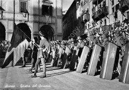 Cartolina - Postcard - Arezzo - Giostra Del Saracino - 1949 -   VG - Unclassified