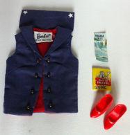 ORIGINAL BARBIE VINTAGE CLOTH # 1631 ABROAD SHIP - Barbie
