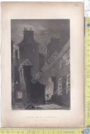 Litografia - Bartlett - Rogers - Globe Close - Dunfries - .XIX  Secolo - - Incisioni