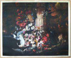 Edizioni Beatrice D'Este N.1278 -  Fiori - Flowers - Stampa Su Seta - Print Silk - Incisioni