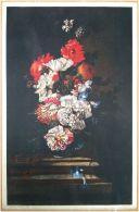Edizioni Beatrice D'Este N.1277 -  Fiori - Flowers - Stampa Su Seta - Print Silk - Incisioni