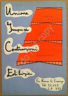 Materiali Edili - Brochure Pubblicit? - Solai Coperture - Firenze - Anni '50 - Pubblicitari