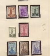 BELGIQUE AVANT 1940  Collection De Tp Avec Charnière  Cote 13600 Euros Avec De Bonnes Valeurs - Belgique