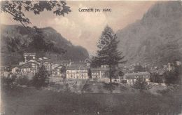 Cartolina - Postcard - Cornetti - Panorama - NVG - Italia