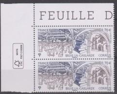 France 2016 - Brive-la-Gaillarde - (2 Timbres X 0,70€) - Tirage : 1 000 000 Exemplaires - Neufs