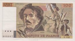 100 FRANCS 1989 - 100 F 1978-1995 ''Delacroix''