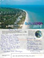 Sanibel Island, Florida, United States US Postcard Posted 2013 Stamp - Etats-Unis
