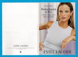 Cartes Parfumées  Carte   PERFECTIONIST    De  ESTEE LAUDER - Modern (vanaf 1961)