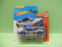 FORD MERCURY COUGAR 1968 - HW Race 2015 - Track Aces - HOTWHEELS Hot Wheels Mattel 1/64 EU Blister - HotWheels