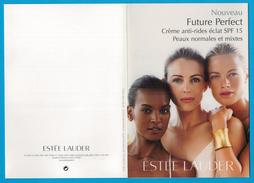 Cartes Parfumées  Carte  FUTURE PERFECT  De  ESTEE LAUDER - Modern (vanaf 1961)