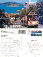 Hyde Street, San Francisco, California, United States US Postcard Posted 2010 Stamp - San Francisco
