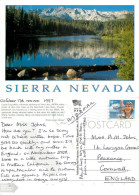 Twin Lakes, California, United States US Postcard Posted 1997 Stamp - Etats-Unis