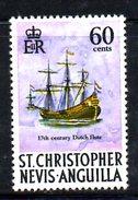 T1463 - CHRISTOPHER NEVIS ANGUILLA 1970, Yvert N. 232 *** MNH . - St.Kitts E Nevis ( 1983-...)