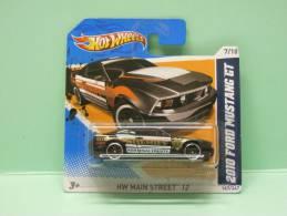 FORD MUSTANG GT 2010 Sheriff - HW Main Street 2012 - HOTWHEELS Hot Wheels Mattel 1/64 EU Blister - HotWheels