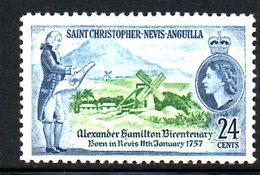 T1465 - CHRISTOPHER NEVIS ANGUILLA 1977, Yvert N. 362/5 *** MNH . - St.Kitts E Nevis ( 1983-...)
