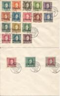 1918 - ITALIEN, M.Nr.1-19, 2 Scan - 8. Besetzung 1. WK
