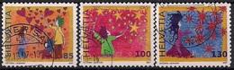 2007 Schweiz Mi. 2022-4  Used  Grußmarken - Switzerland
