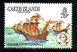 T1476 - CAICOS 1984, Yvert N. 45   **  COLOMBO - Turks E Caicos