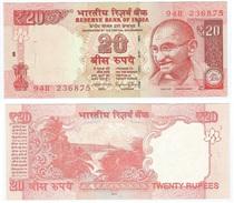 India 20 Rupees 2015 Pick 103m UNC - India