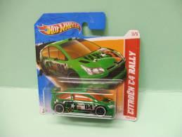 CITROEN C4 RALLY - Thrill Racers - City Stunt 2012 - HOTWHEELS Hot Wheels Mattel 1/64 EU Blister - HotWheels