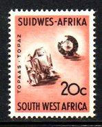 T1482 - AFRICA DEL SUD OVEST 1961, Yvert N. 264  * - Africa Del Sud-Ovest (1923-1990)