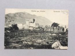 AK    ALBANIA      SHKODRA   -  MARUBBI       TARABOSHI  1917. - Albanie