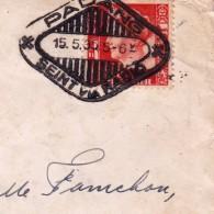 Lettre Padang Sumatra Colonies Néerlandaises Ned Indie 1935 - India Holandeses